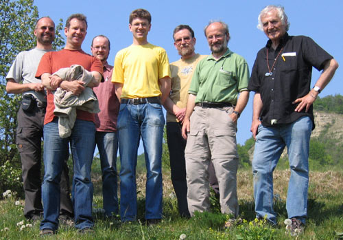 Some of the attending botanists.